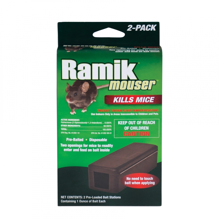 ramik mouser disposable bait station 2 pk
