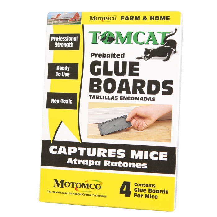 Motomco Tomcat Mouse Glue Board (4 Pack)