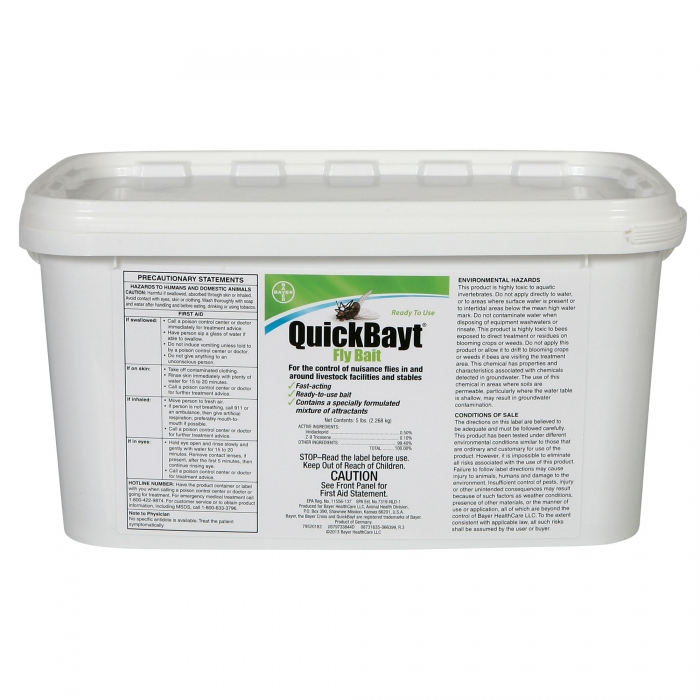 QuickBayt Fly Bait - 5 lb. Pail