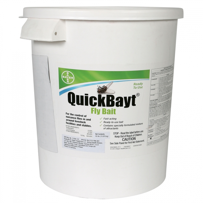 QuickBayt Fly Bait - 35 lb. Bucket