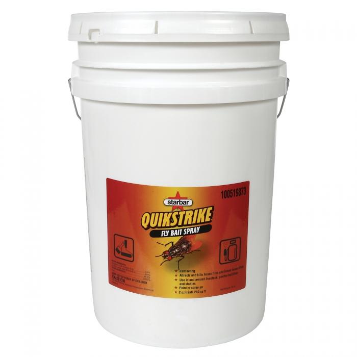 QuikStrike Fly Bait Spray - 40 lb Pail