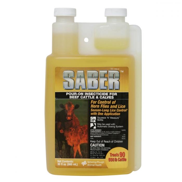 Saber Pour-On (Schering)