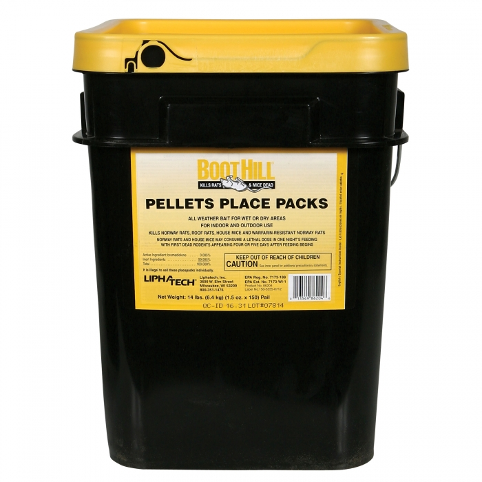BootHill - 150 Count Pellet Place Packs