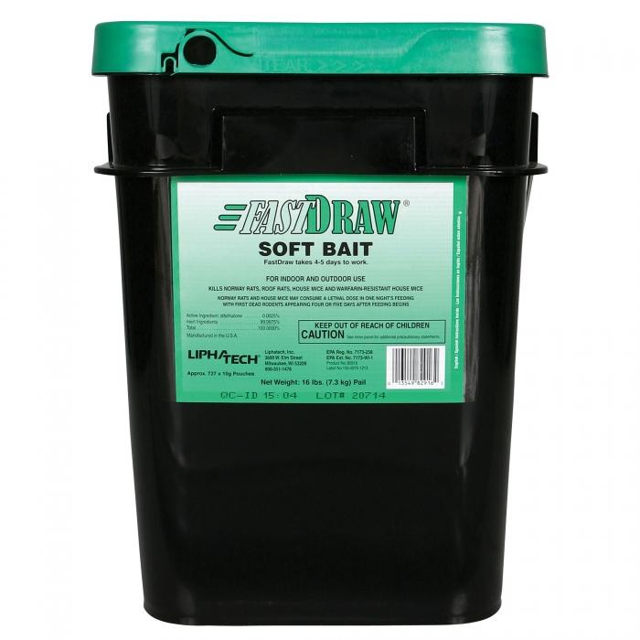 FastDraw  - 16 lb. Pail of 10 g Pouches