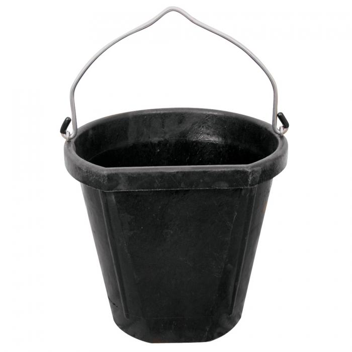 DuraFlex 18 Qt. Rubber Bucket