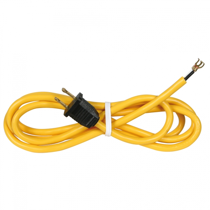6' Power Supply Cord (18/2 Gauge)