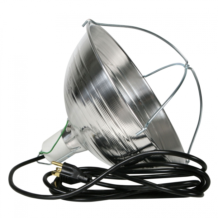 Quality Heat Lamp with Grounded Cord