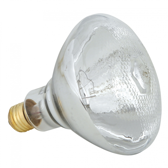Dimpled Hard Glass Heat Bulb