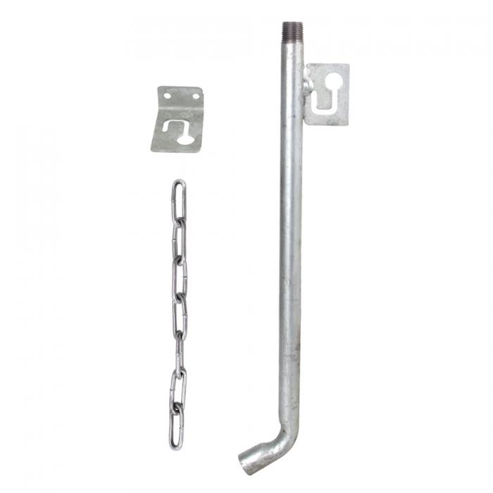 Single Galvanized Swinging Waterer Kit