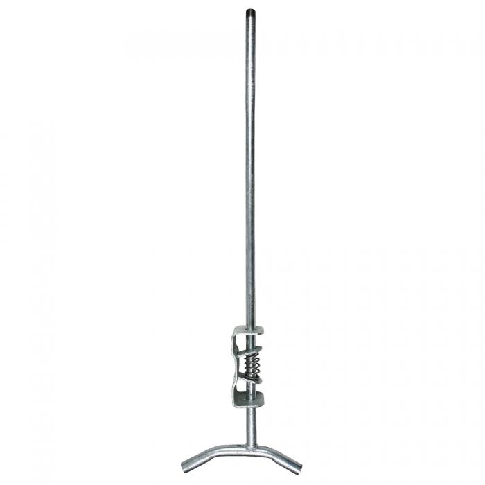 Adjustable Wall Bracket - Galvanized - 1/2