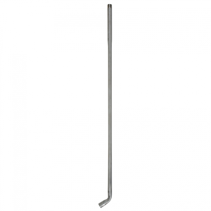 SWB101XL Stainless Steel Pipe Only - 36 inch - Side View