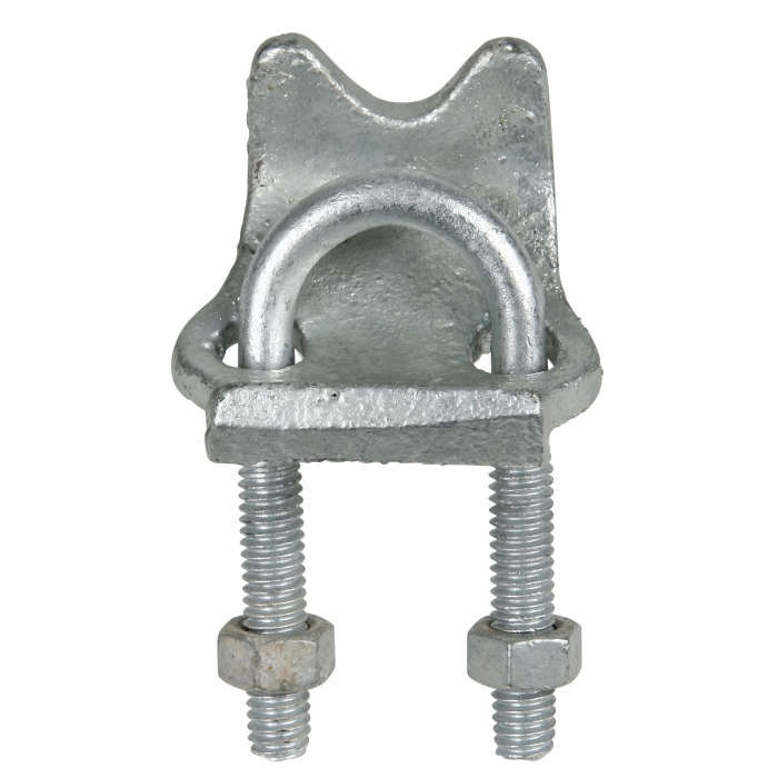 1/2 inch Galvanized Right Angle Clamp