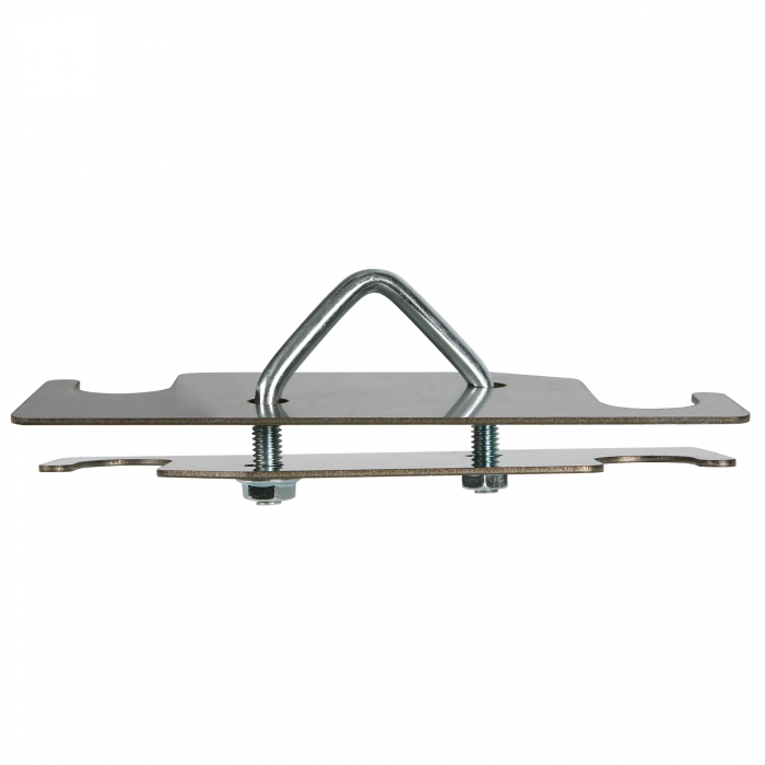 Nursery and Wean To Finish Watering - Stainless Steel Double Pipe Bracket - Assembled