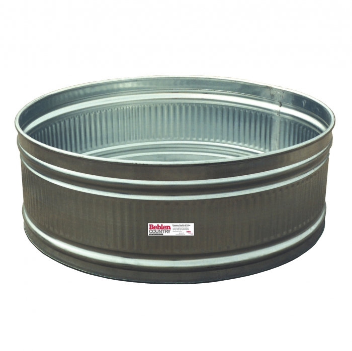Large Rubber Horse Water Tubs: Round Stock Tank