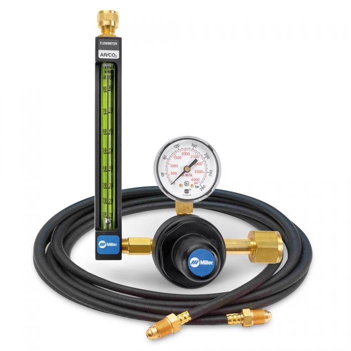 Argon/CO2 Flowmeter Regulator with Hose