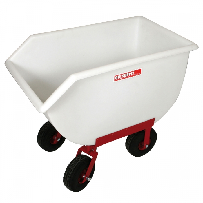 Poly Tuff Utility/Feed Cart - 14 Bushel w/ 4 Air Tires