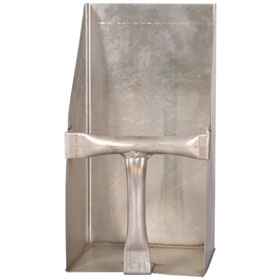 Square Stainless Steel Feed Scoop