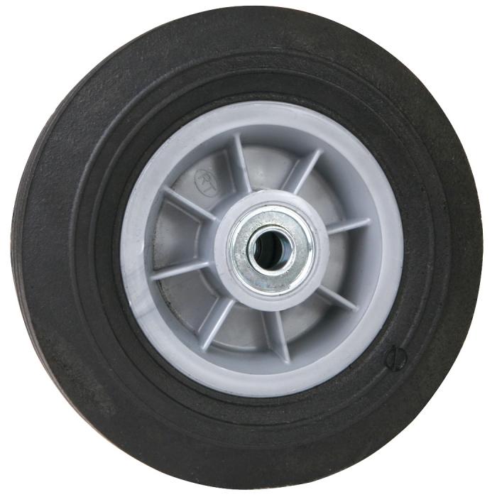 8 x 2.5 Rubber Wheel 5/8 Axle