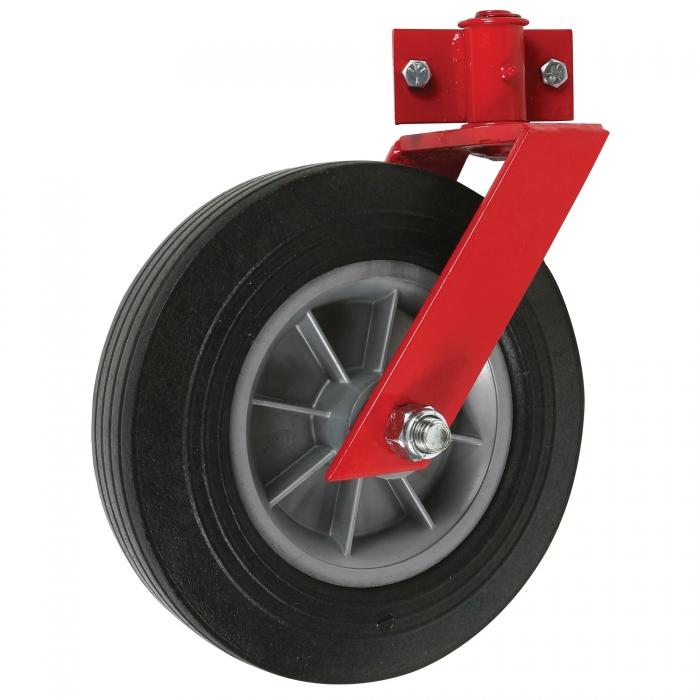10 x 2.75 Hard Swivel Wheel 5/8 Axle