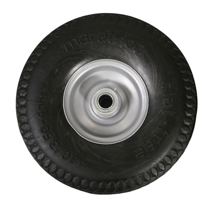 Solid Core Flat Free Tire - 4.10/3.50-4