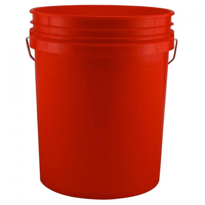 5 Gallon Bucket - Red