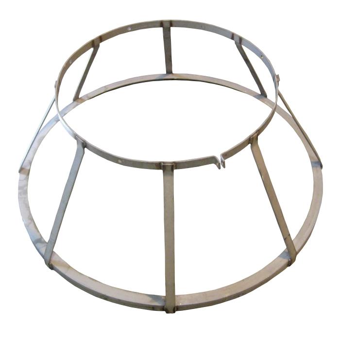 Steel Trough Divider for Osborne RF2 Big Wheel Finish Feeder