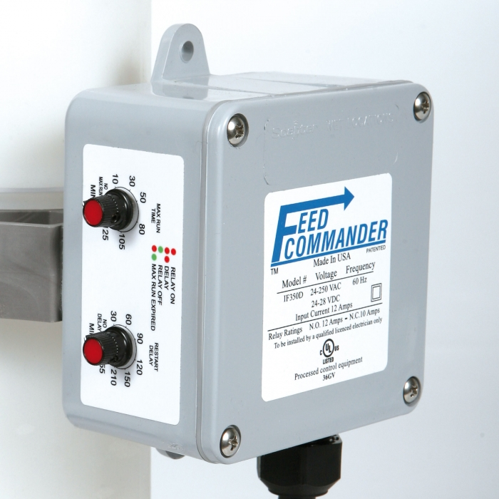 Close up of Feed Commander