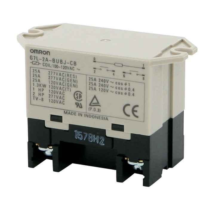 Power Relay 110 Volt (Screw Terminal)