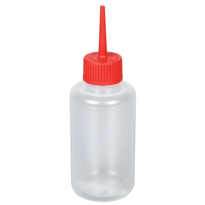 Plastic Semen Bottle with Red Cap