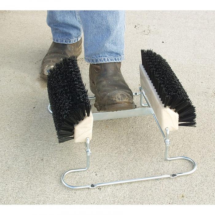 Deluxe Boot 'n Shoe Scraper - Scrape away dirt and debris