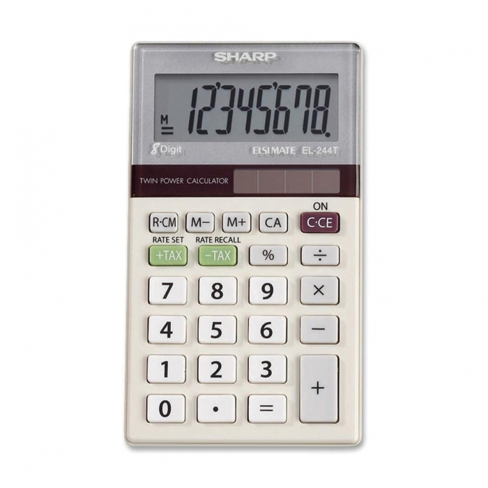 Sharp 8-Digit Portable Calculator