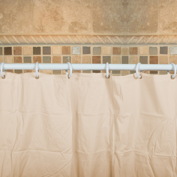 Heavy-Duty Vinyl Shower Curtain | QC Supply