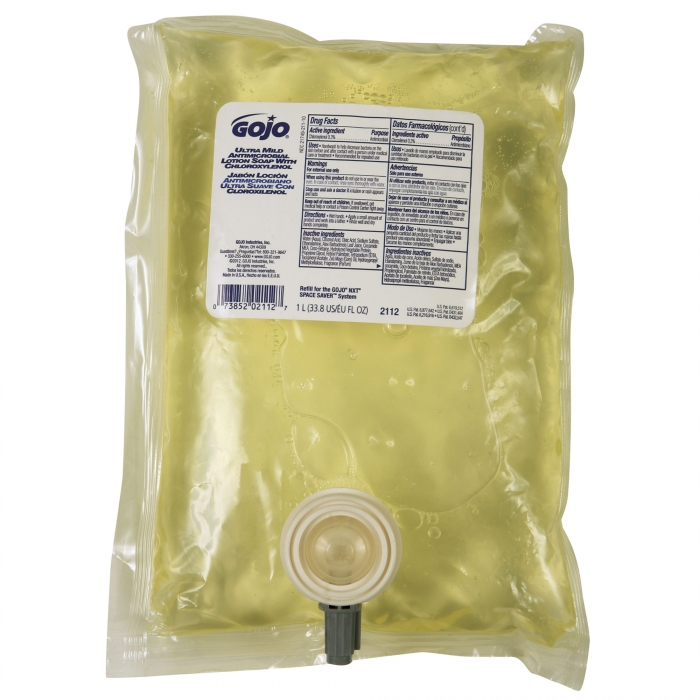 Gojo Ultra Mild Antimicrobial Lotion Soap With