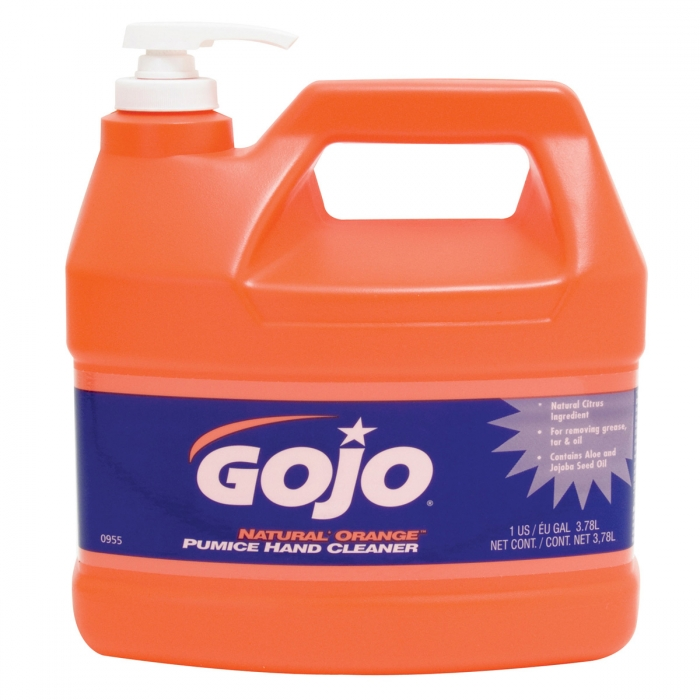 GOJO Natural Orange Pumice Hand Cleaner 1 Gallon