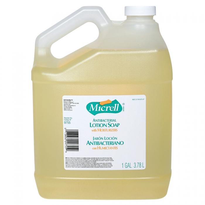 MICRELL Antibacterial Lotion Soap 1 Gallon