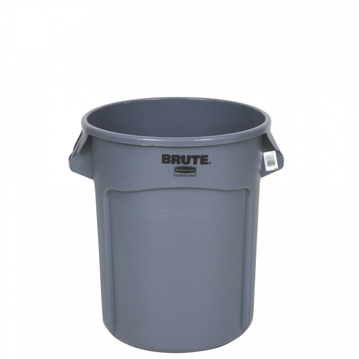 Rubbermaid BRUTE Round Containers 20 Gallon - Front View
