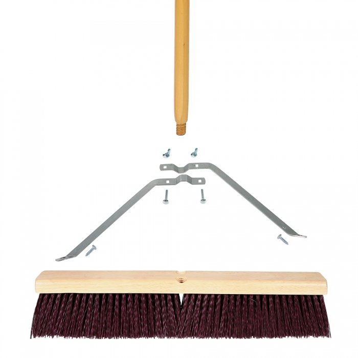 Coarse Sweep Brooms With Wood Handle