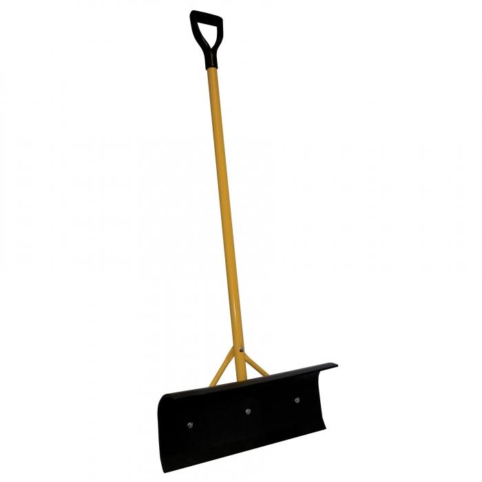 Big Push Scraper - 24 inch Black Poly Blade with D Handle