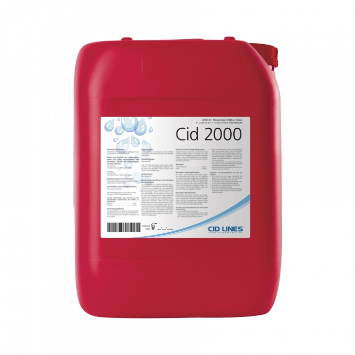 Cid 2000 Cleaner - Acidifier