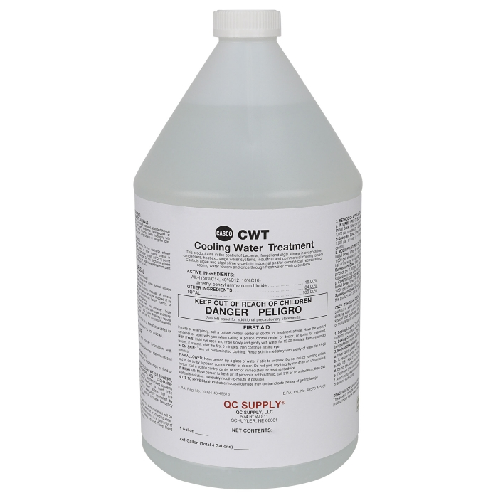 Casco Cooling Water Treatment Algaecide - 1 Gallon