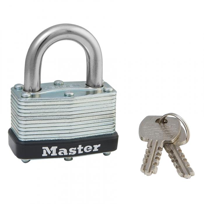 Master Lock 1 3/4 inch Laminated Steel Warded Padlock