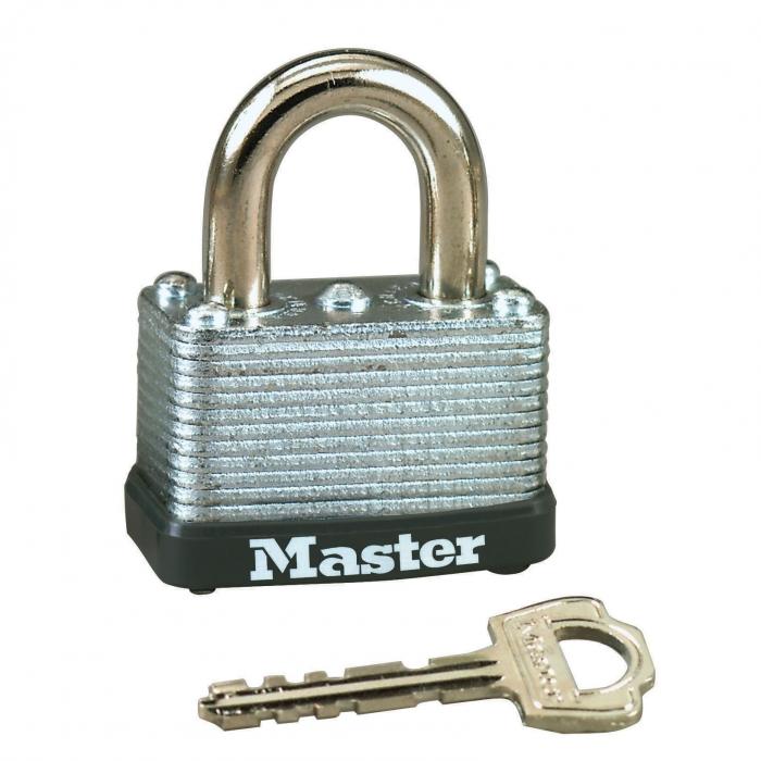 Master Lock 1 1/2 inch Laminated Steel Warded Padlock