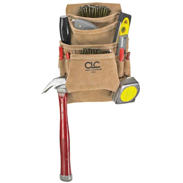 10-Pocket Carpenter's Nail and Tool Bag and Tool Bag