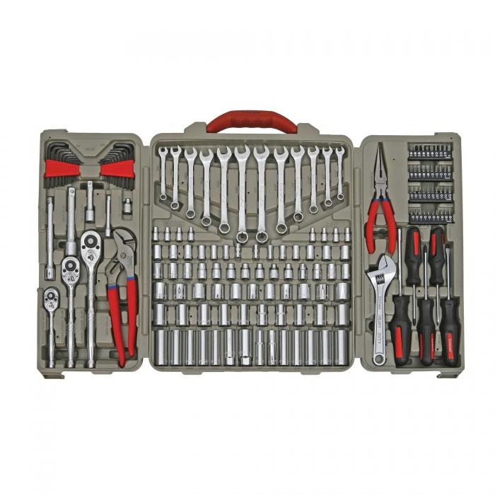 Crescent 170 Piece Mechanics foot Tool Set