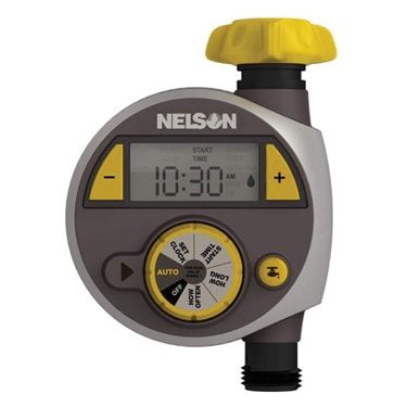 Nelson Single Outlet Electric Timer