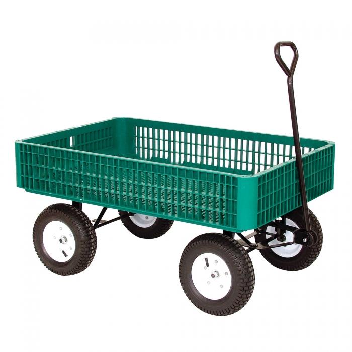 Plastic Crate Wagon Qc Supply