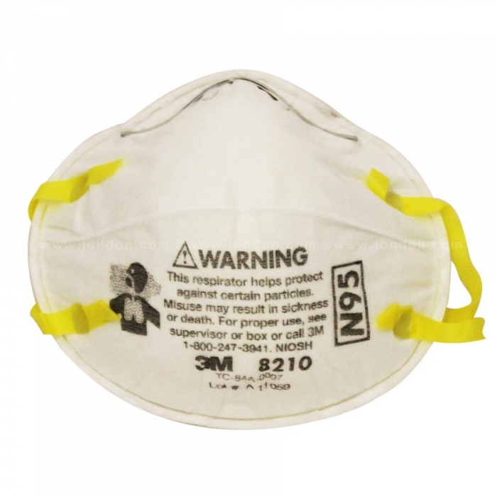 3M 8210N95 Dust Mask
