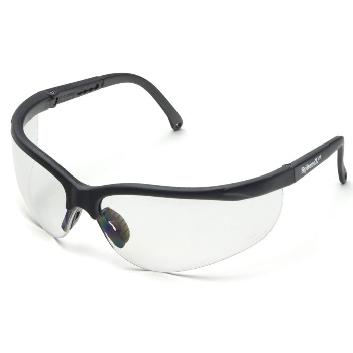 Sphere X Extreme Wrap Safety Glasses - Clear