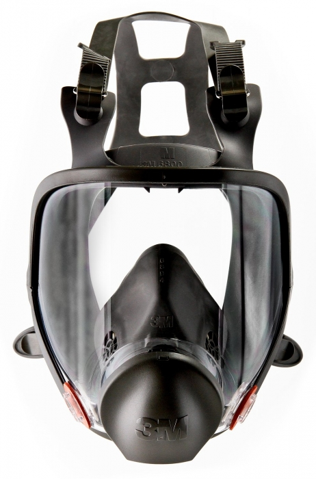 3M 6000 Respirator (Full Mask) - Front