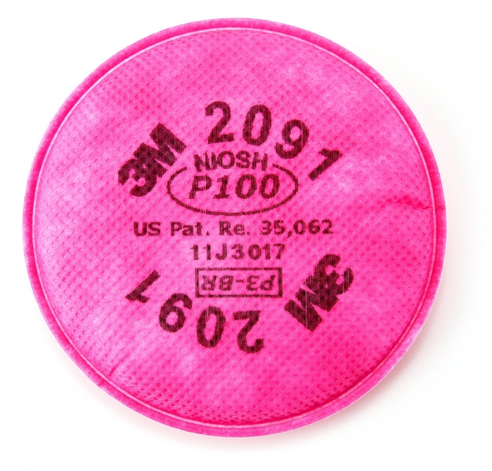 3M P100 Filter for 3M 6000 Respirator